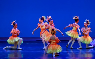 children ballet performance
